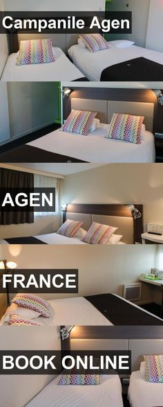 Hotel Campanile Agen in Agen, France. For more information, photos, reviews and best prices please follow the link. #France #Agen #CampanileAgen #hotel #travel #vacation