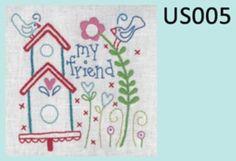 United Stitches # 5 Mini Stitchery - by Rosalie Quinlan