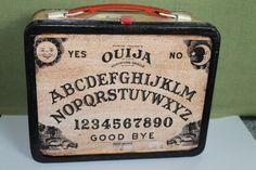 Ouija Board Lunch Box by CreepyCrawlCraftwork on Etsy, $60.00
