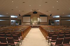 Modern Church Sanctuary