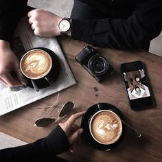 coffee — : @blackink.penn | Tag your shot #manmakecoffee...