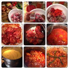 Couscous Tunisien with lamb