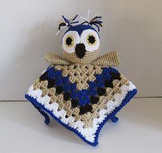 Ravelry: Owl Lovey Security Blanket pattern by Susan Wilkes-Baker  $4.50