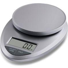 EatSmart Precision Pro Digital Kitchen Scale Silver
