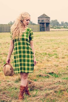 Mad About Plaid Concept shoot for Most Everything Vintage, Vancouver WA Model: Brittney Hancock MUAH: Ashley Rauch/Ashley Cheri Stylist Photography: May Faith Photography