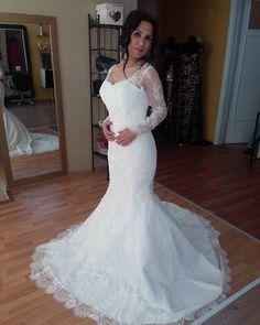 Custom #longsleeveweddingdresses & #affordable replicas of #couture #weddinggowns avail at www.dariuscordell.com