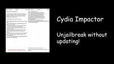 How to UnJailbreak iOS 8.3/8.4 Without Updating (Cydia Impactor)