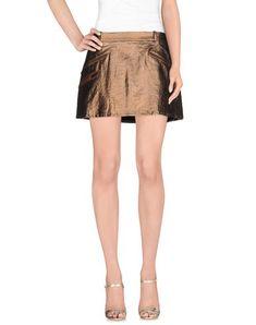 JUST CAVALLI Mini Skirt. #justcavalli #cloth #dress #top #skirt #pant #coat #jacket #jecket #beachwear #