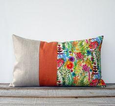 Bright Floral Decorative Pillow Set of 2 Tresco Liberty