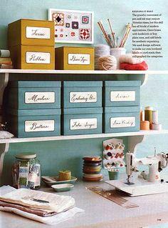 Studio Storage Idea