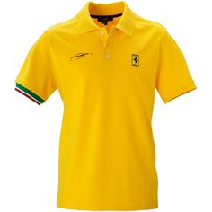 Ferrari Short Sleeved Polo Shirt