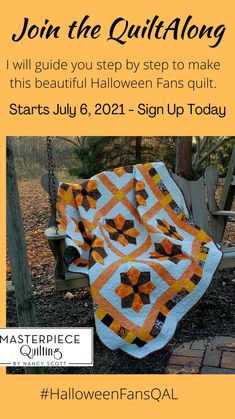 Halloween Quilt Patterns, Halloween Quilts, Batik Quilts, Fall Quilts, Quilting Designs, Quilting Ideas, Free Motion Quilting, Beautiful Islands, Quilt Making