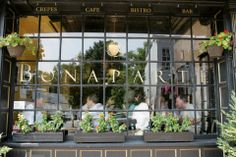 Cafe Bonaparte | The laidback Washingtonian's go-to brunch, lunch, and casual dinner spot for over 10 years. Pop in for the crepes, lattes, and extensive brunch cocktail menu; stay for the authentic European vibe. | #BHLDNgtown