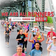 We are all runners. National Running Day! @Liz Murphy