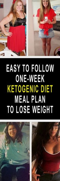 Easy To Follow One Week Ketogenic Diet Meal Plan To Lose Weight- 7 Day Ketogenic Diet Meal Plan ...