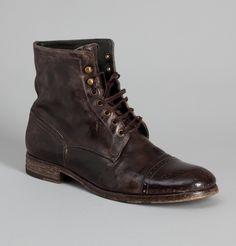 Pete Sorensen Brown Détroit Boots at L'Exception
