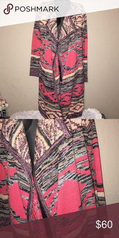 Miami knit Aztec Cardigan NWOT/Medium miami Sweaters Cardigans