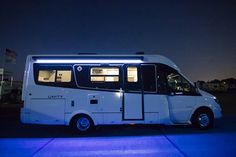 Unity Features Twin Bed Leisure Travel Vans Travel Van Travel