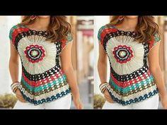 Fabulous Crochet a Little Black Crochet Dress Ideas. Georgeous Crochet a Little Black Crochet Dress Ideas. Bikini Crochet, Crochet Crop Top, Crochet Cardigan, Crochet Gifts, Diy Crochet, Crochet Sweater Design, Black Crochet Dress, Date Outfit Casual, Crochet Videos