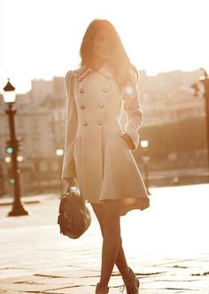 Classy coat for fall!