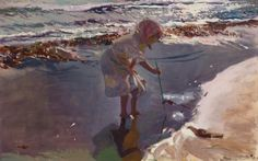 Playa De Valencia Art Print by Joaquin Sorolla y Bastida. All prints are professionally printed, packaged, and shipped within 3 - 4 business days. Choose from multiple sizes and hundreds of frame and mat options. Spanish Painters, Spanish Artists, Claude Monet, Edouard Manet, Pierre Auguste Renoir, Charles Gleyre, Valencia Beach, Madrid, Wow Art