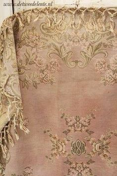 Old French carpet