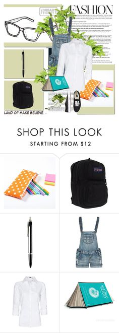 """Nerd!!!"" by panbear ❤ liked on Polyvore featuring Ksubi, JanSport, Donkey Products, Vanilla Star, MANGO, FieldCandy and Vans"