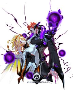 Overwatch Mercy and Moira Overwatch Memes, Overwatch Fan Art, Facepalm Emoticon, Overwatch Wallpapers, Heroes Of The Storm, Video Game Art, Video Games, Widowmaker, Starcraft