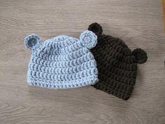 Häkle eine süße Bärchenmütze im Beanie Style für Dein Baby! Die kostenlose Anleitung dazu gibt es bei uns.