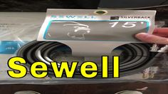 Sewell Silverback 15' cables