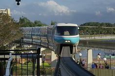 Monorail from Magic Kingdom Station
