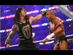 WrestleMania 32 on WWE Network, ALL Player Playing and wining moment of capture 03-April-2016