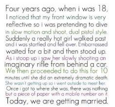 Cute story :)