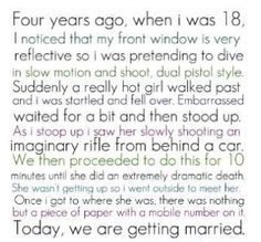 AWWWWWW! That was the most adorable thing I have ever read