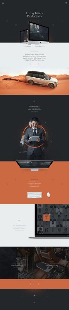 Twofold luxury webdesign