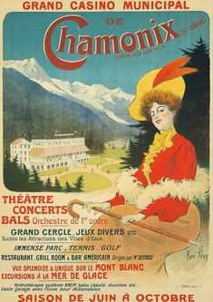 Buy online, view images and see past prices for Chamonix. Invaluable is the world's largest marketplace for art, antiques, and collectibles. Poster Store, Sale Poster, Poster On, Poster Prints, Evian Les Bains, Einstein, Art Nouveau, Concert Posters, Theatre Posters