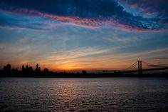 'Philadelphia Skyline Silhouette' by Michael Mill Skyline Silhouette, Silhouette S, Framed Prints, Canvas Prints, Art Prints, Philadelphia Skyline, Cool Photos, Spaces, Sunset