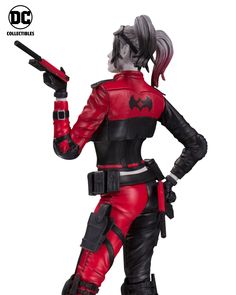 DC Collectibles Injustice 2 Harley Quin - Red, White and Black Statue - The Toyark - News