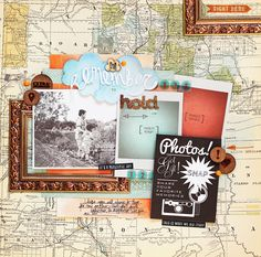 She is my FAVORITE scrapbooker by far...Lilith's scrapbooking venture