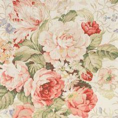 Warwick     Bibury Fabric - Chintz