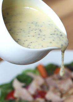Honey Mustard Poppyseed Salad Dressing