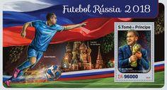 Football Russia 2018 (Igor Shuvalov, director of the organizing committee) Organizing Committee, Russia, Stamps, Football, Organization, Seals, Soccer, Getting Organized, Organisation