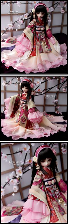 little Megu. <3 #yosd #dollfie #bjd