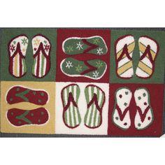 Nourison Everywhere Sandals Multicolor Accent Rug