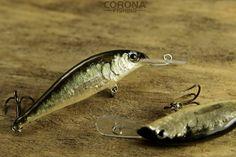 Lubelska Ukleja - drobna i smukła rybka jako podstawowy pokarm wszystkich drapieżników zamieszkujących nasze wody. #wędkarstwo #przynęty #rękodzieło #woblery #lubelskie
