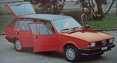 c.1980 ALFA ROMEO GIULIETTA GIARDINETTA - coachwork by Carrozzeria Moretti of Turin.