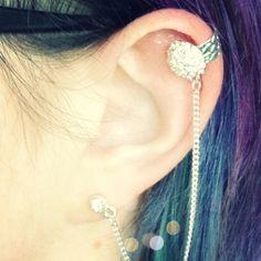 New ear cuff.