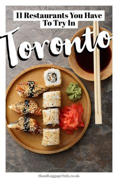 Toronto is one of those cities that seems to have a bit of everything. From amazing neighbourhoods districts and history its got a little something for everyone. In fact thats what attracted me to Toronto Best Restaurants In Toronto, Unique Restaurants, Ontario Travel, Toronto Travel, Toronto Vacation, Food Places, Best Places To Eat, Voyage Canada, Canada Travel