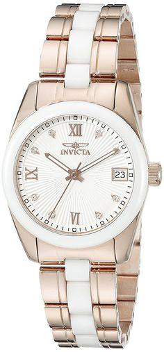 Invicta Women's 18149 Specialty Analog Display Swiss Quartz Two Tone Watch ** You can get additional details at the image link.
