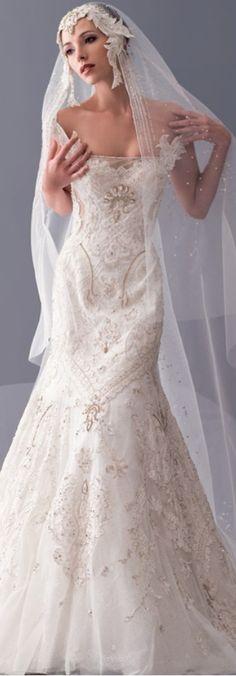 Vestido de novia de Blanka Matragi